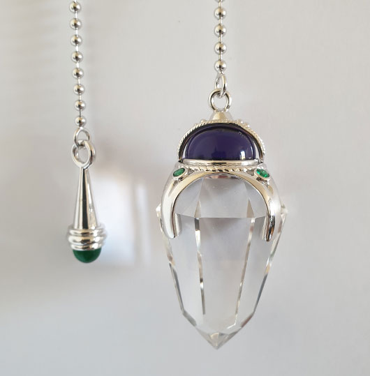 Pendulum for dowser, dowsing for games of chance.jpg